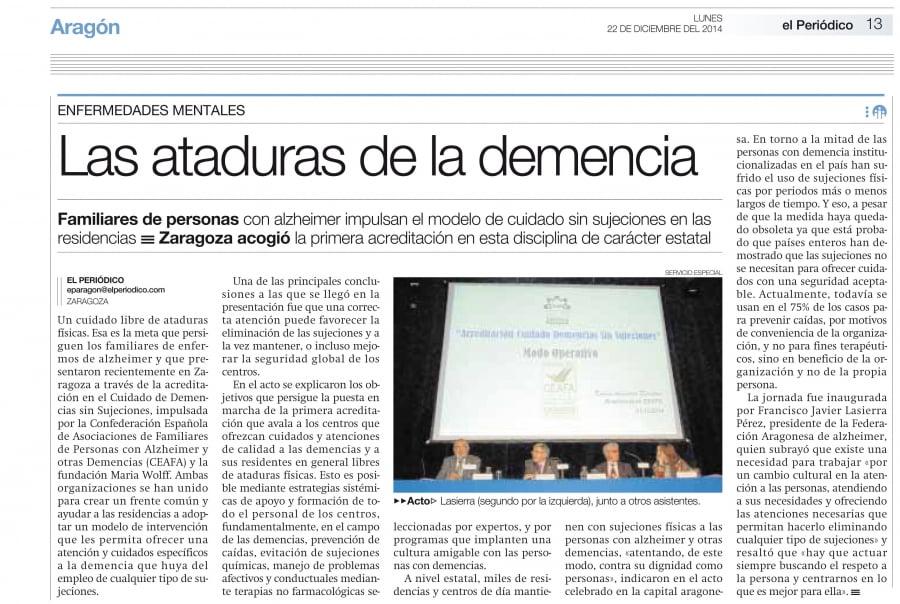 Las ataduras de la demencia